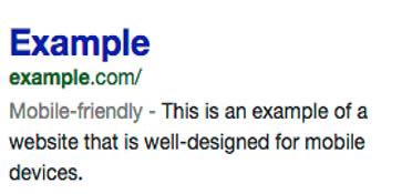 Google discriminates against non mobile-friendly websites